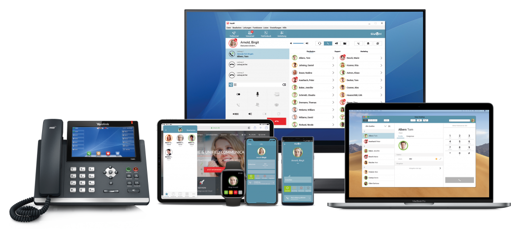 Unified Communications mit SwyxWare
